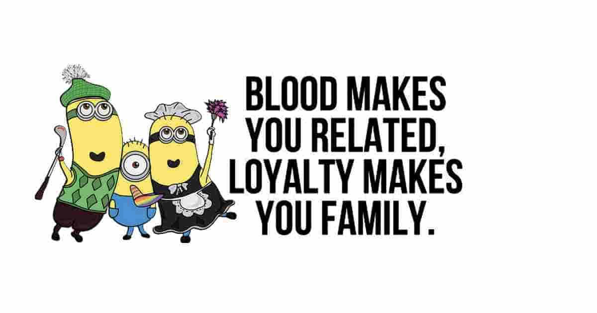 blood and family