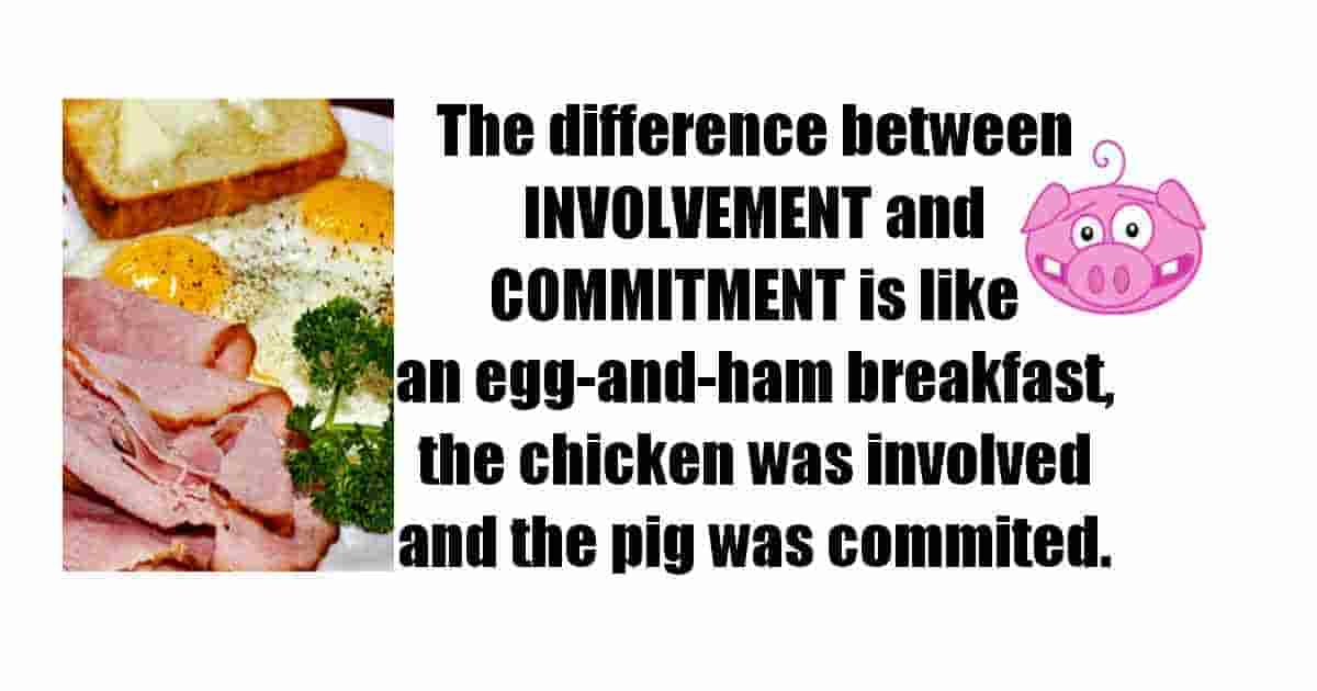 Difference between involvement and commitment
