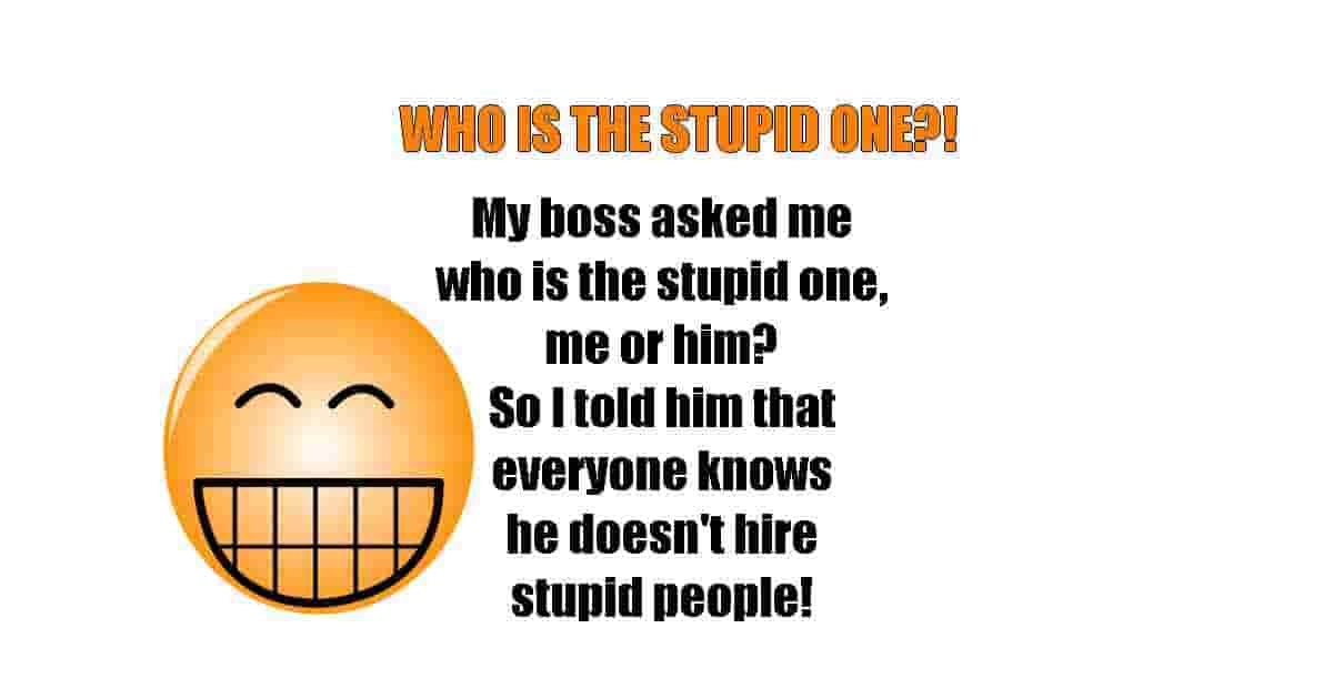 stupid boss funny quote