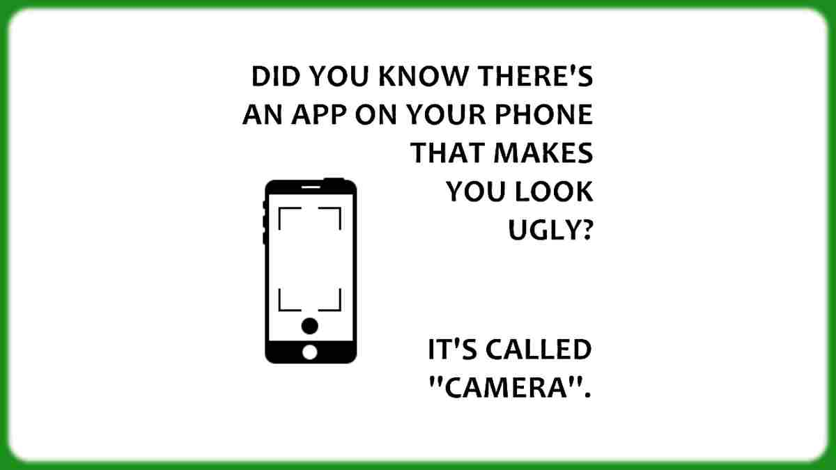 Funny mobile app quote