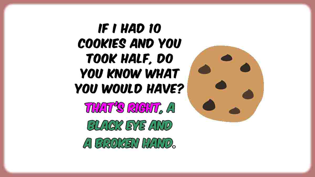 Humor cookies question funny quote