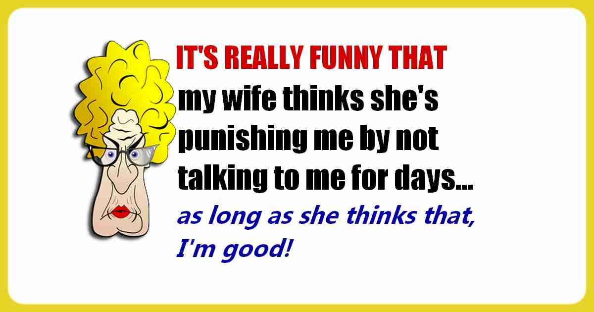 Wife punishment funny quote
