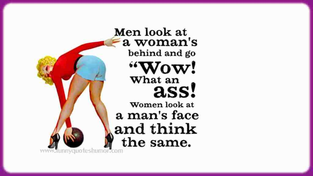 Men's thoughts funny quote