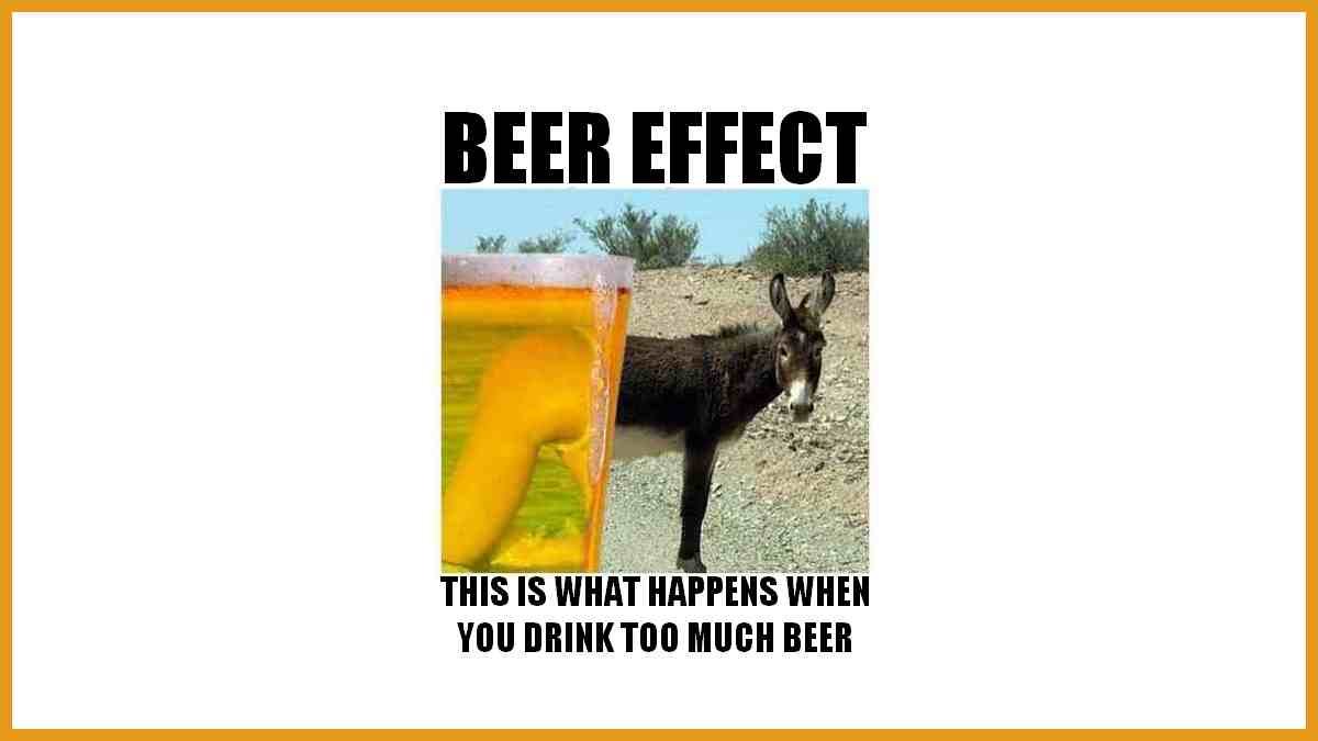 Be careful drinking too much... this might happen to you!